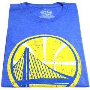 Golden State Warriors Large Logo Crewneck T-Shirt